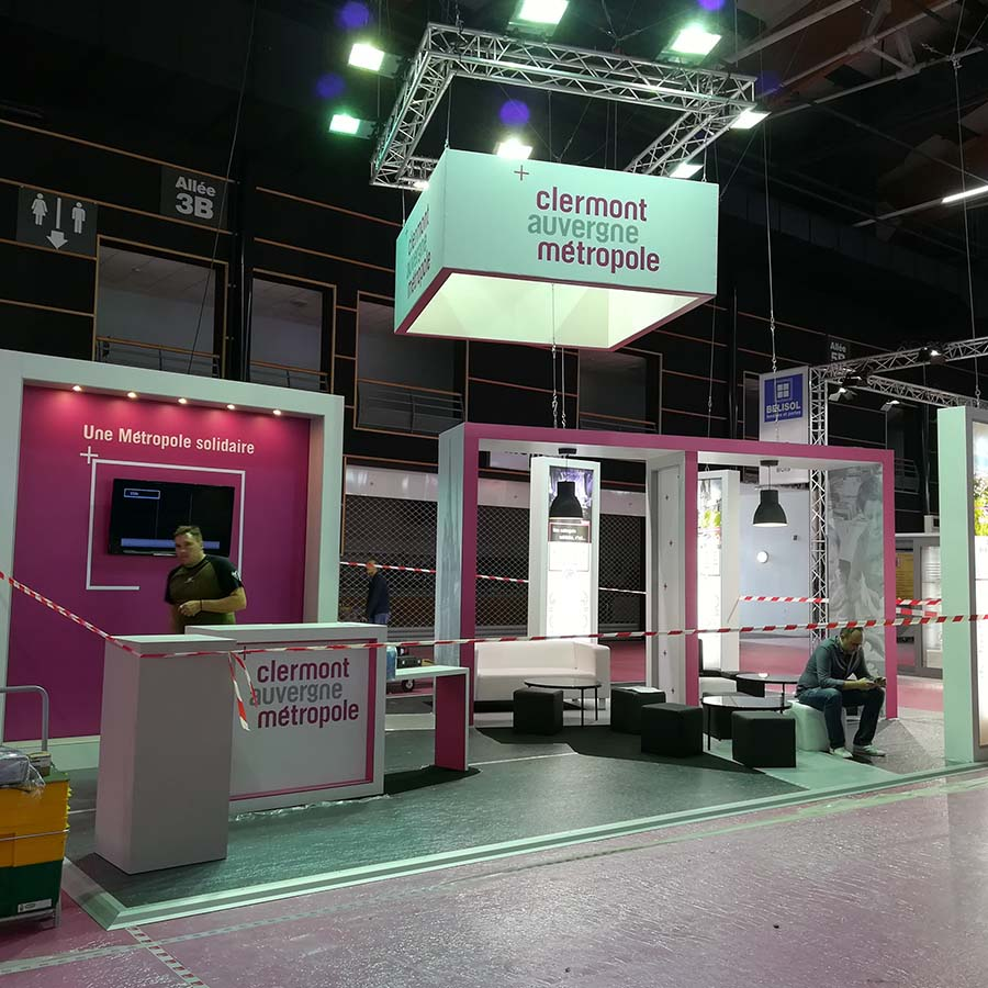 Conception de stand pour salon