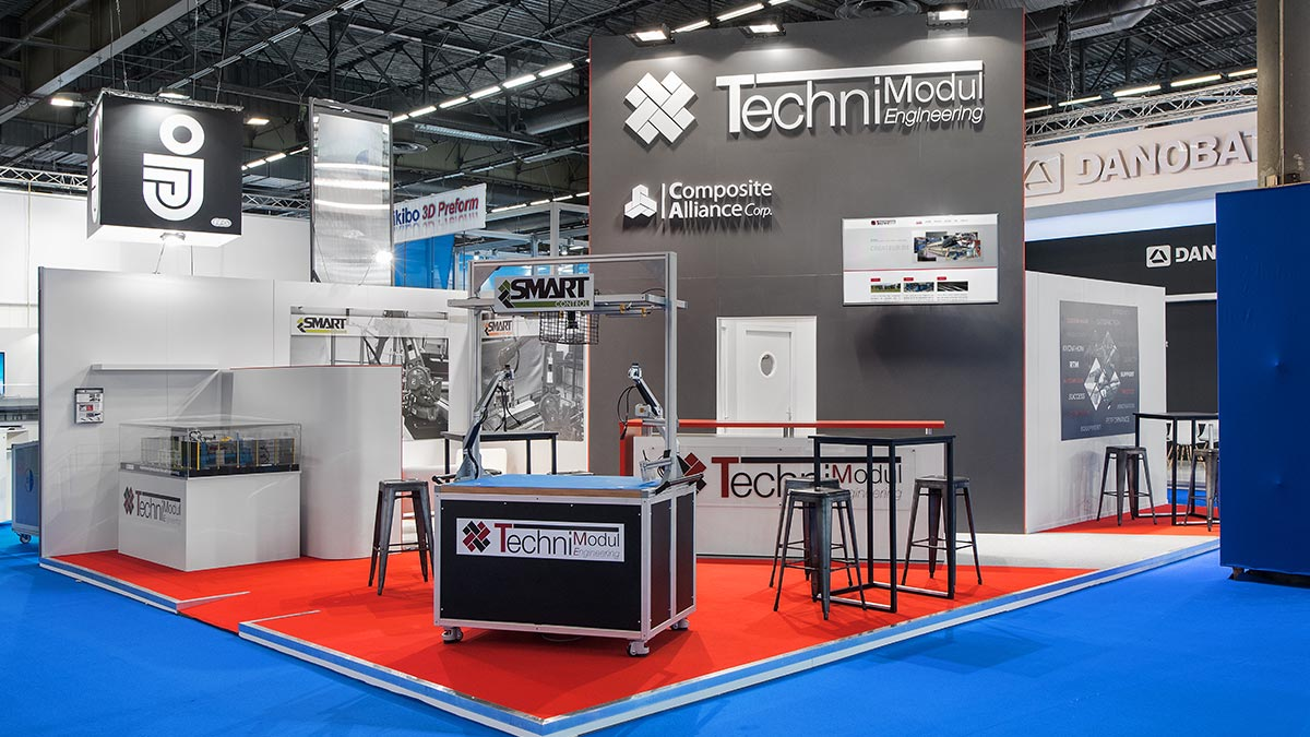 Stand d'expo Technimodul Engineering