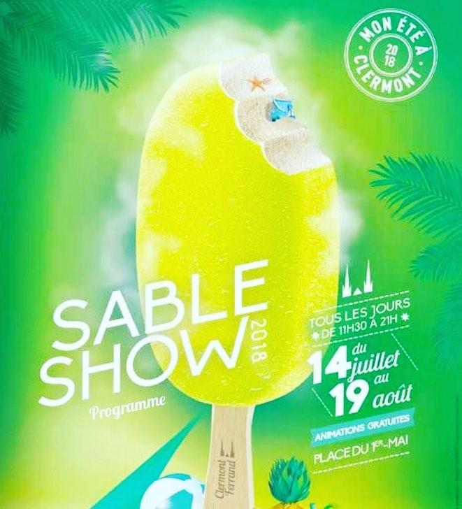 Affiche Sable Show