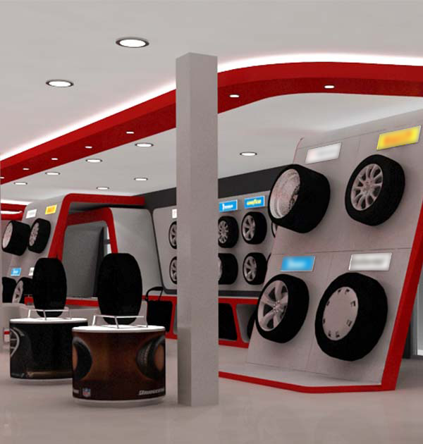 Agencement showroom